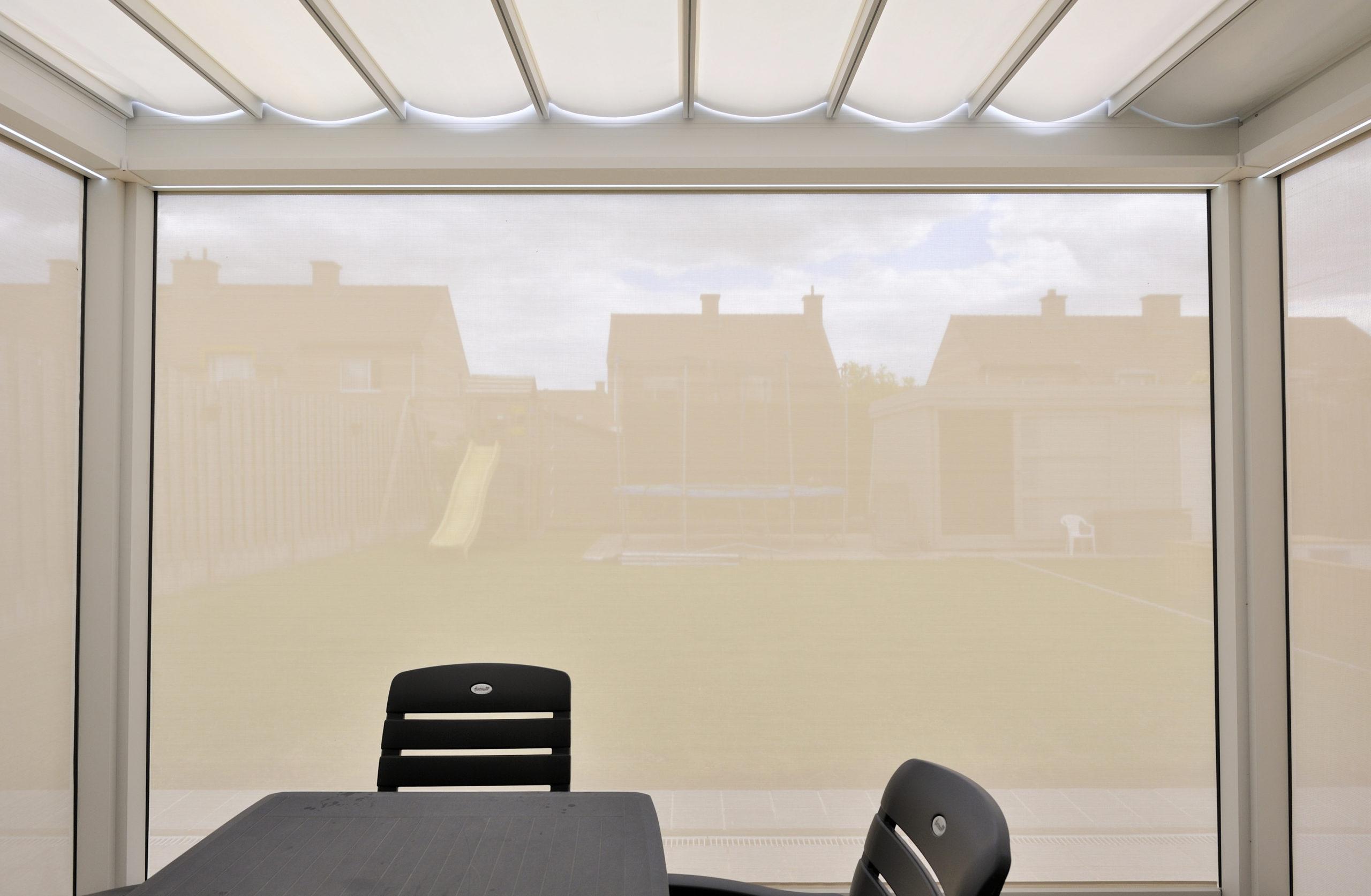 Brustor B-300 Outdoor Living - view from inside - BRU0077