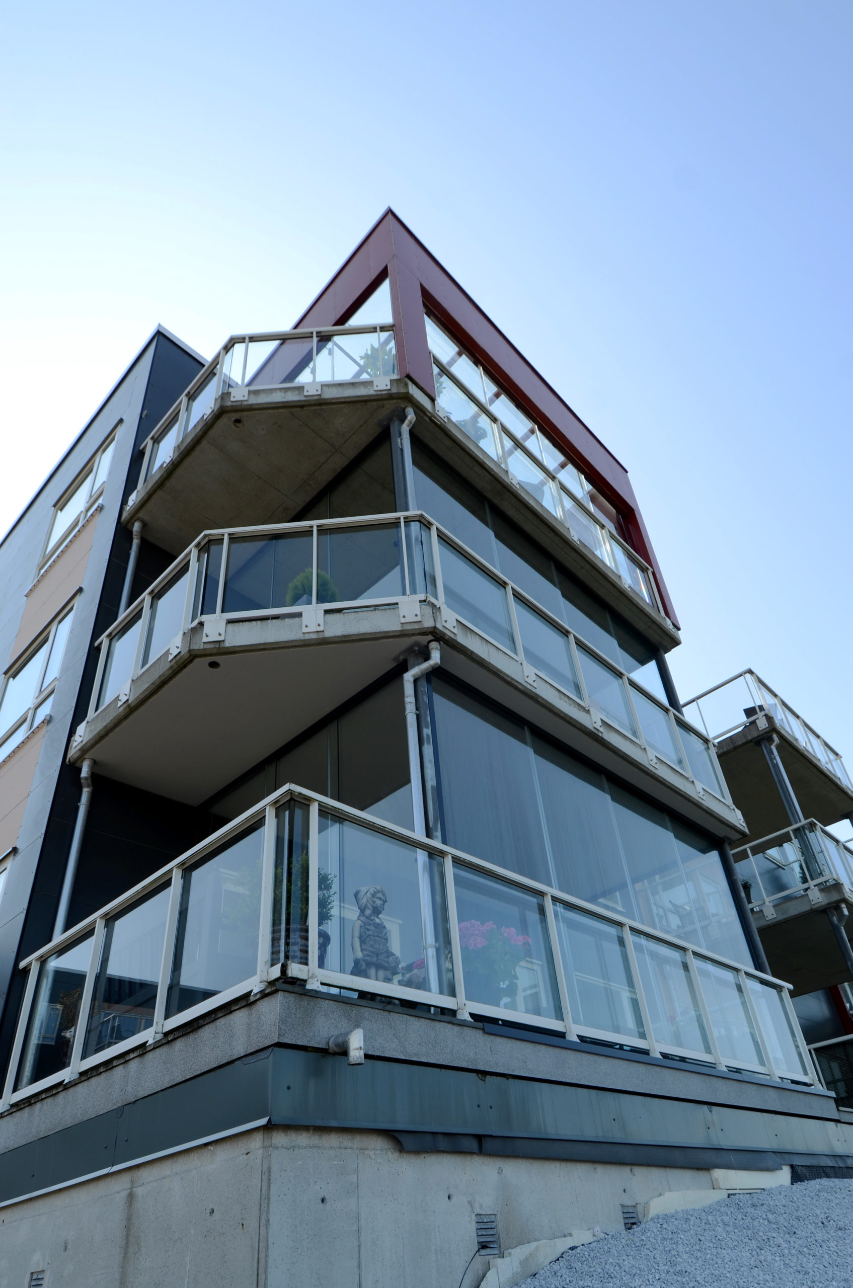 Innglassing av balkong på sameie