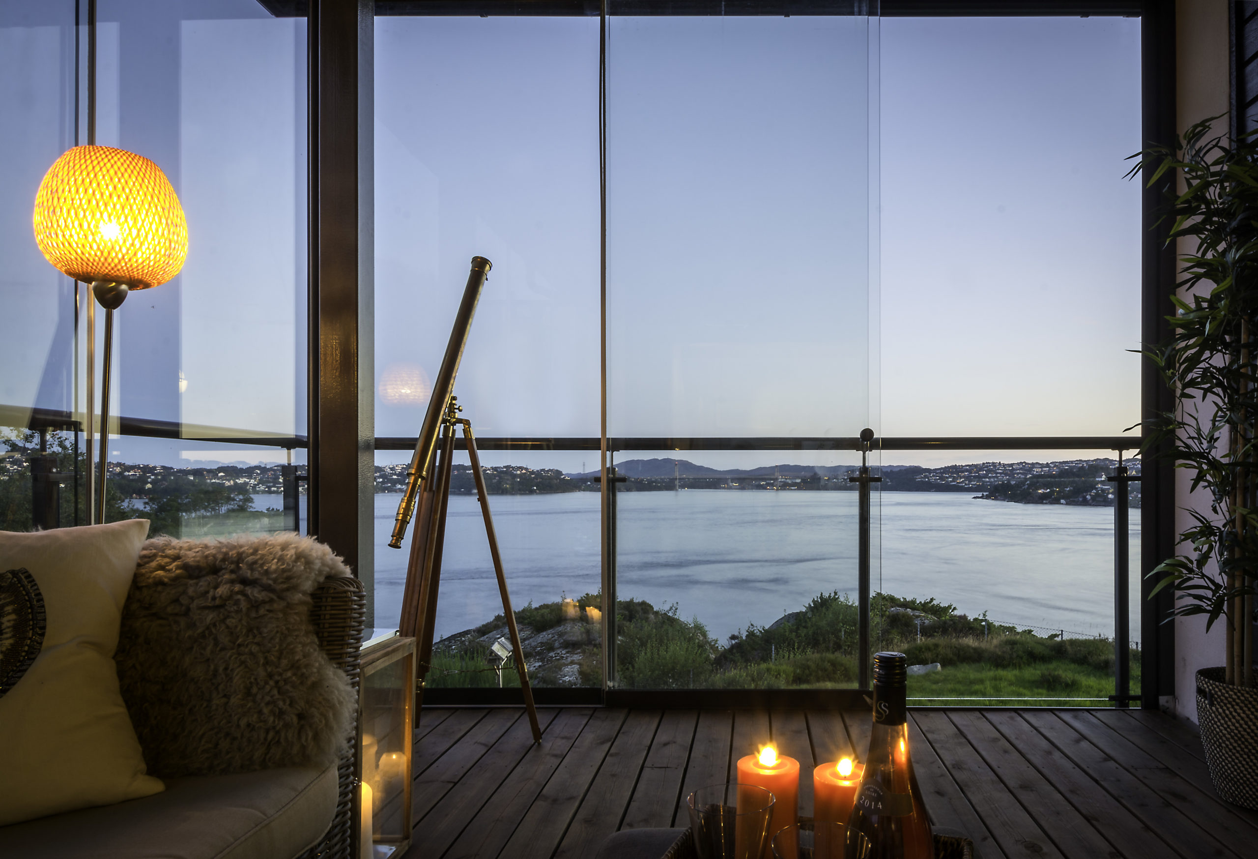 innglasset veranda