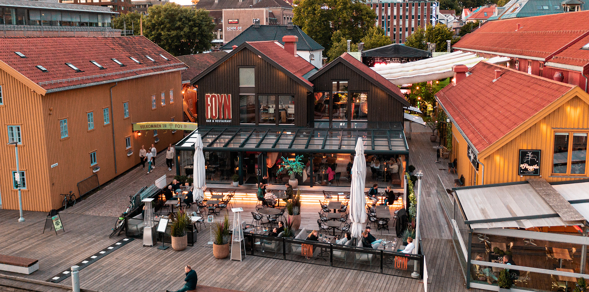 uteDESIGN Foyn bar & restaurant hovedbilde